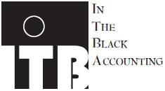 in the black accounting